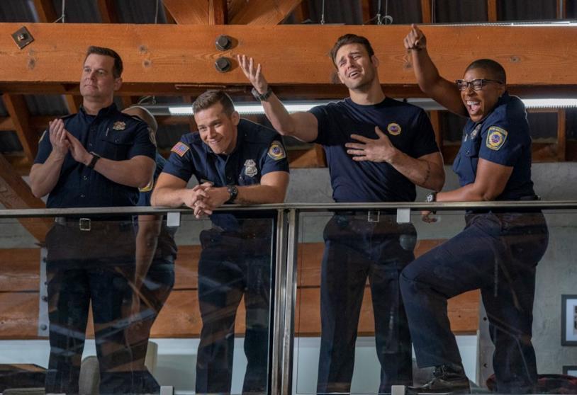 Un'immagine dalla seconda stagione di 911