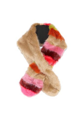 Sciarpa faux fur