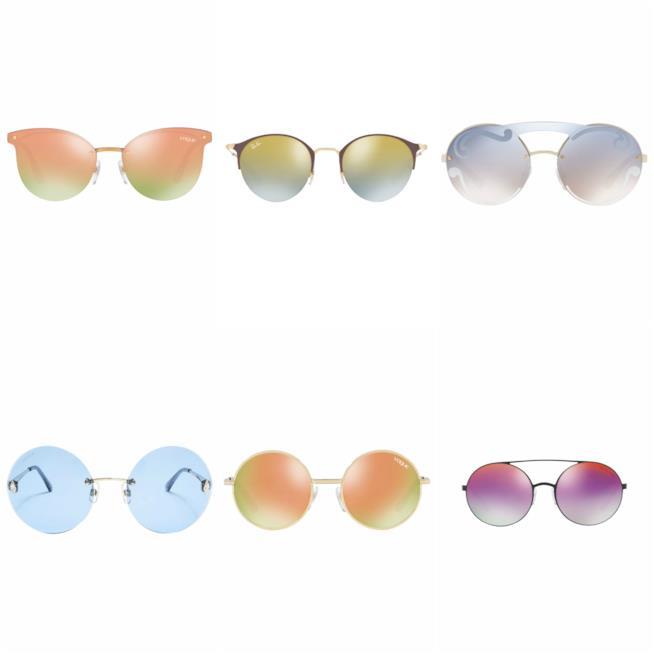 Lenti arcobaleno per gli occhiali da sole P/E 2018