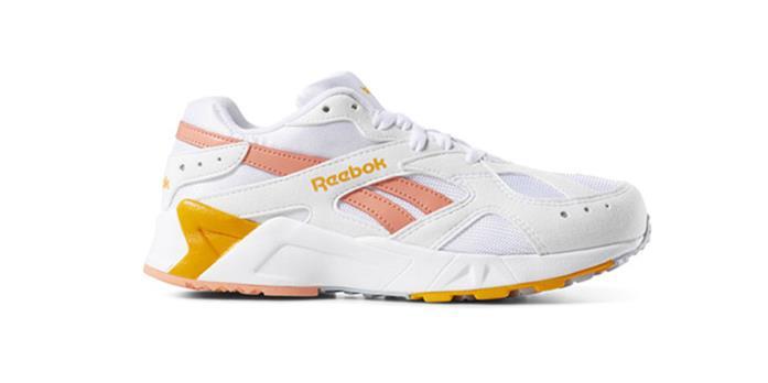 Sneakers Reebok Aztrek colorazione arancio