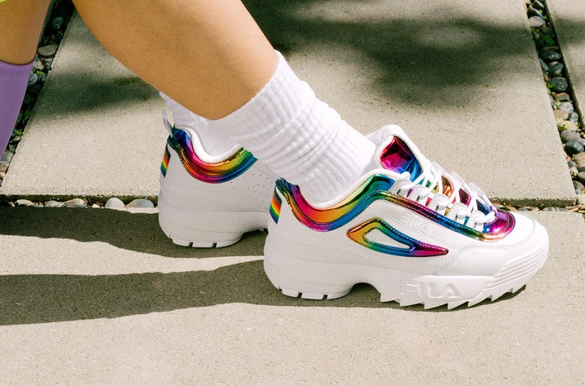 FILA presenta la sua Sneaker ilimited edition con il ...