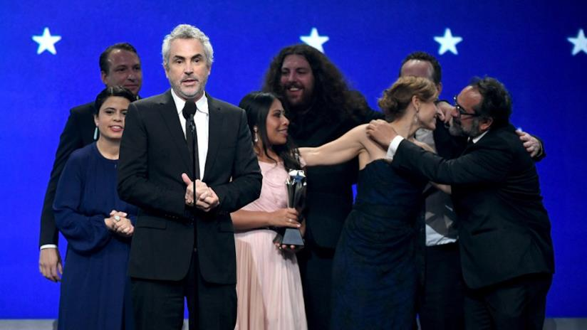 Alfonso Cuaròn vince ai Critics Choice Awards 2019 con Roma