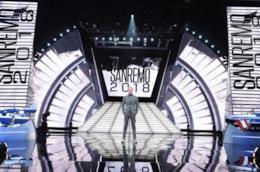 Il palco di Sanremo 2018