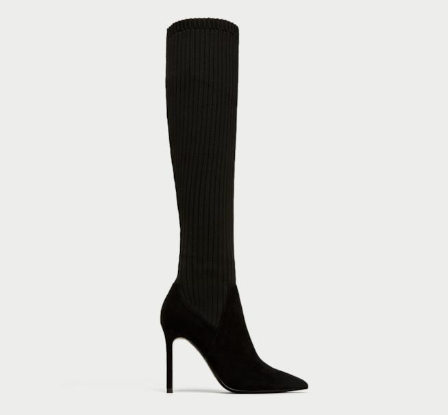 Gli stivali di Zara seguono la moda del momento
