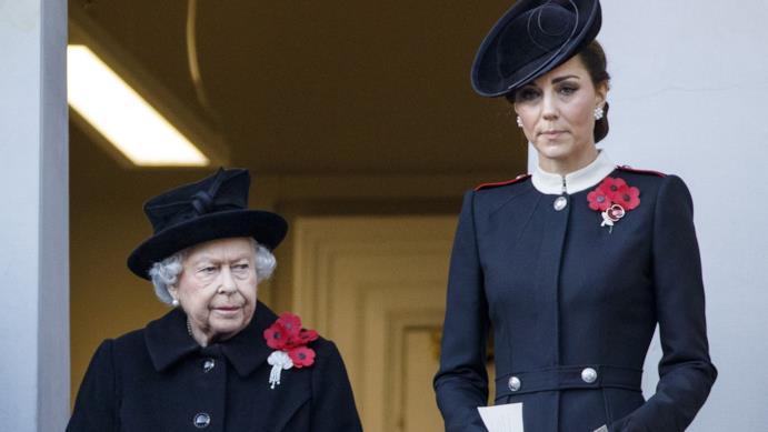 La Regina Elisabetta e Kate Middleton