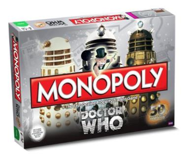 Doctor Who Monopoly 50th Anniversary edition [importato da UK]