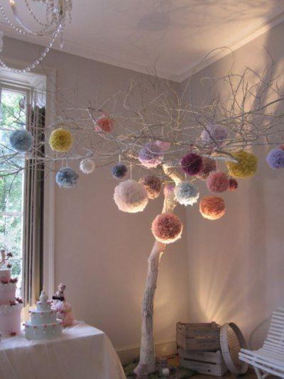Palle di lana colorate