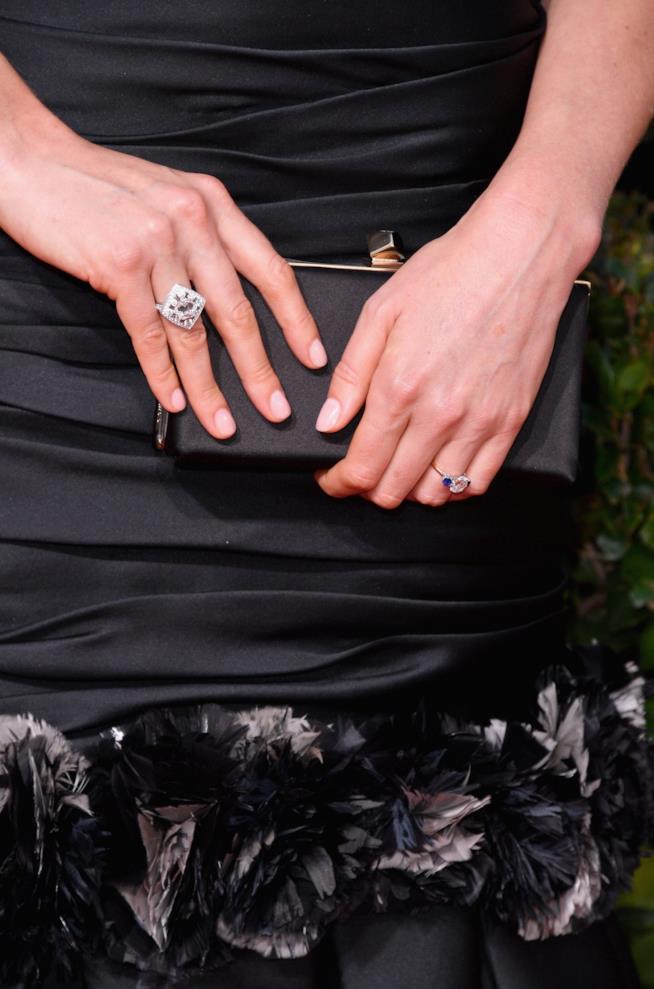 L'anello di fidanzamento di Caitriona Balfe
