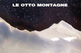 Copertina con un manto di stelle di Le otto montagne