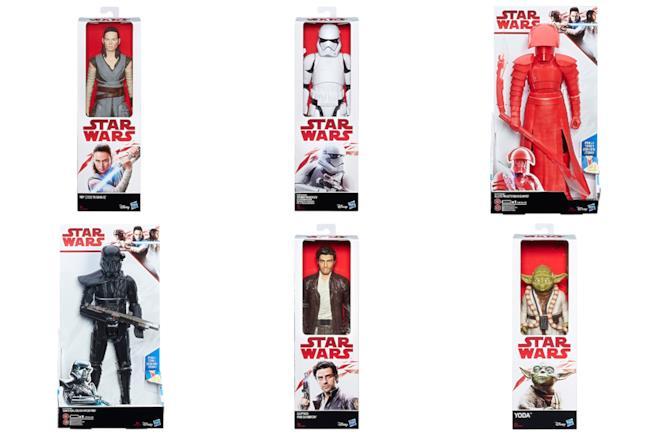Le action figures di Star Wars Gli Ultimi Jedi nella linea Titan Heroes