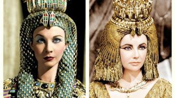 Cleopatra in una raffigurazione d'epoca