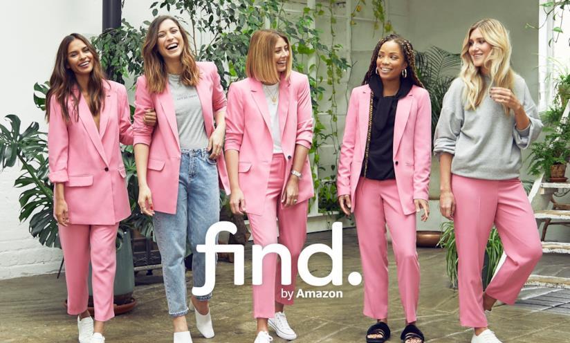La linea di moda find. di Amazon per comprare T-Shirt online