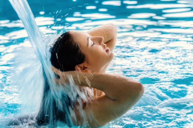 Le terme: attimi di relax e benessere