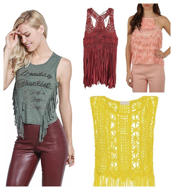 f4c1efd5def9 Tendenza moda estate 2018: i vestiti e gli accessori con le frange