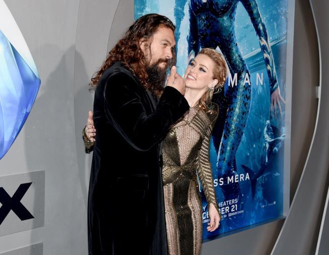 Amber Heard con Jason Momoa