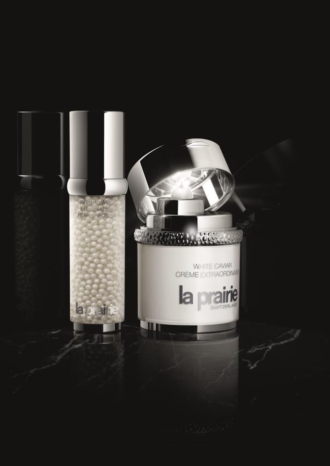White Caviar Crème Extraordinaire e il siero viso illuminante La Prairie