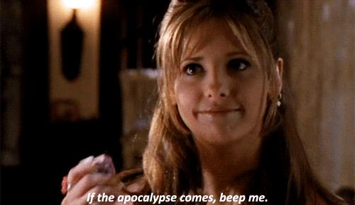 Buffy Summers interpretata da Sarah Michelle Gellar