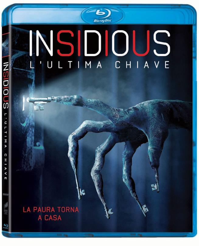 Il Blu Ray di Insidious L'ultima chiave