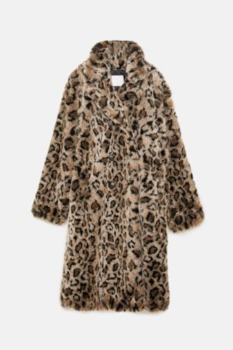 Cappotto stampa animalier