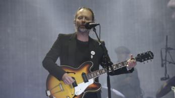 Thom Yorke dei Radiohead in concerto