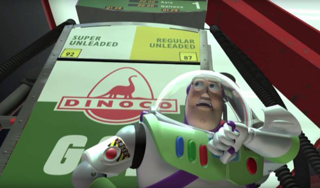 "Scena tratta dal film Disney Pixar ""Toy Story"""