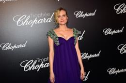 L'attrice tedesca Diane Kruger a un evento di gala