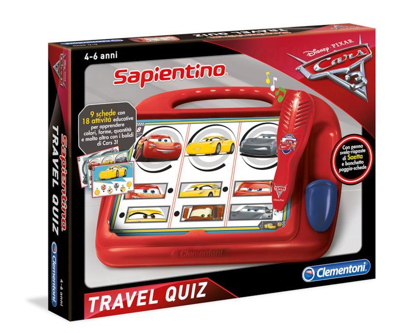 Sapientino Travel Quiz Cars 3