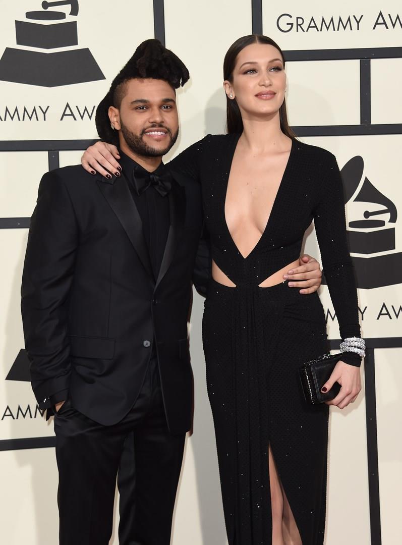 The Weeknd e Bella Hadid a un evento