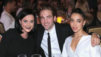 Robert Pattinson a un evento con FKA Twigs e Katy Perry