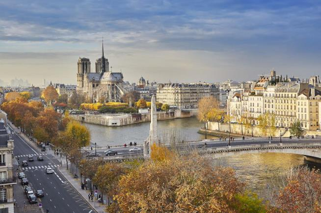 Parigi in autunno nel weekend di Halloween