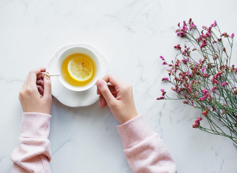 Tisana con limone
