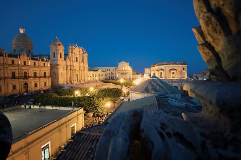 Il Duomo di Noto di notte