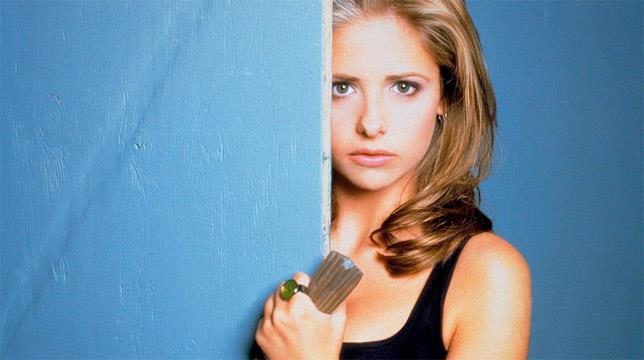 Sarah Michelle Gellar è Buffy