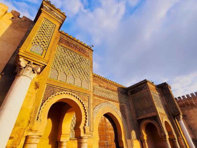 Babel-Mansour, la porta imperiale di Meknès