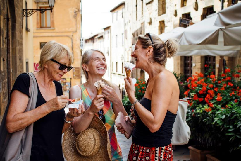 Tre donne in vacanza insieme