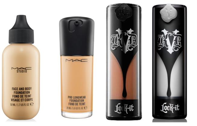 Fondotinta liquidi ac Cosmetics e Kat Von D