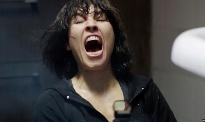 L'urlo di Noomi Rapace in Seven Sister