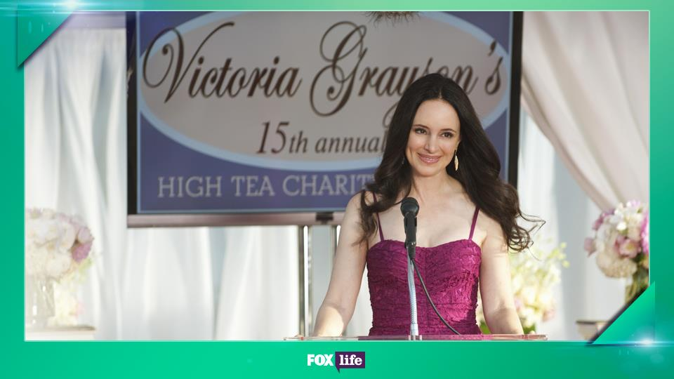 Gli outfit di Victoria Grayson