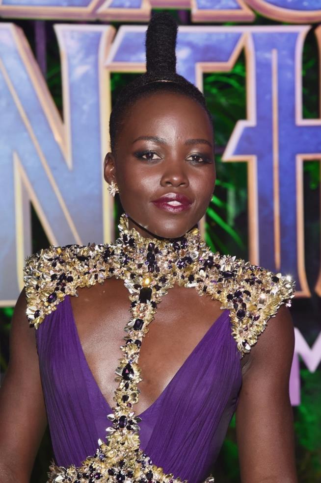Il beauty look sfoggiato da Lupita Nyong'o