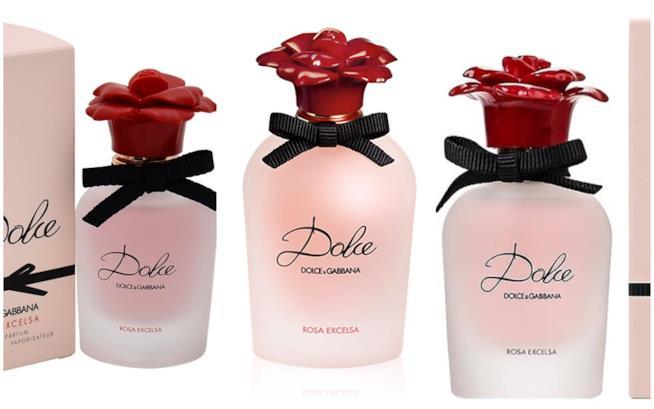 Dolce Rosa Excelsa di Dolce & Gabbana, eau de parfum con rosa canina africana e rosa turca