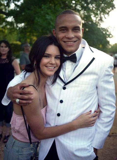 Kendall Jenner con il primo amore Julian Brooks