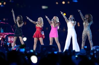 Le Spice Girls alle Olimpiadi 2012