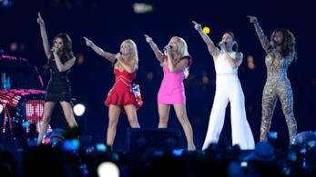 Le Spice Girls alle Olimpiadi 2012