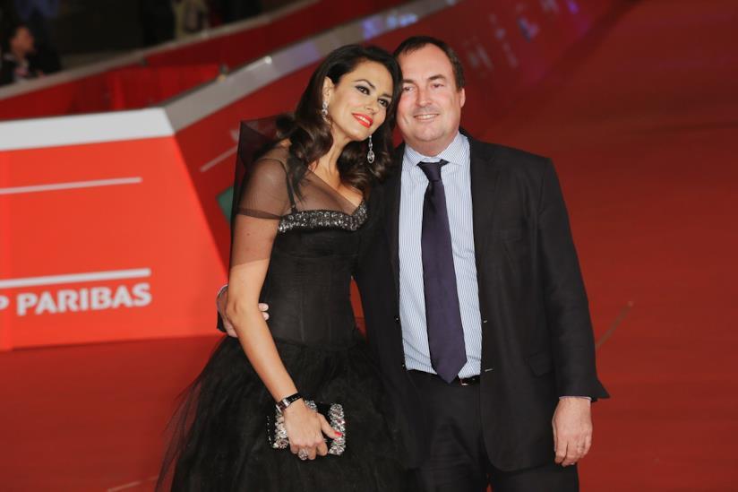 Maria Grazia Cucinotta e il marito Giulio Violati