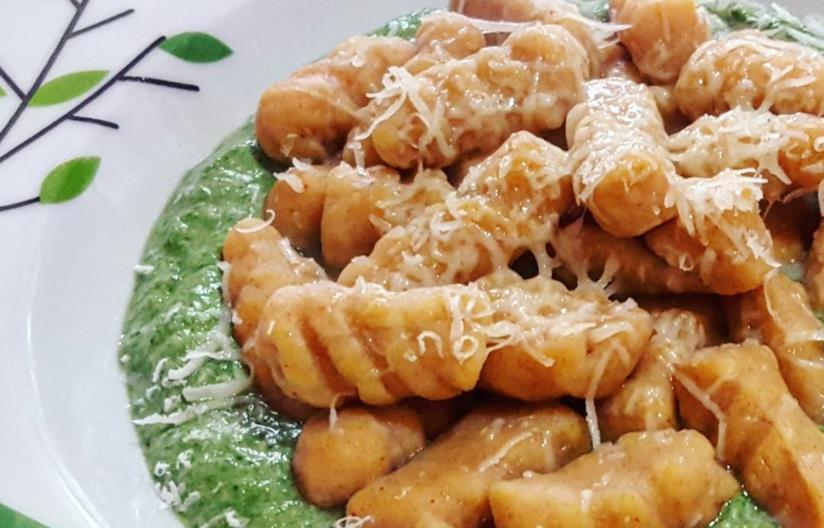 Pasta alla crema verde
