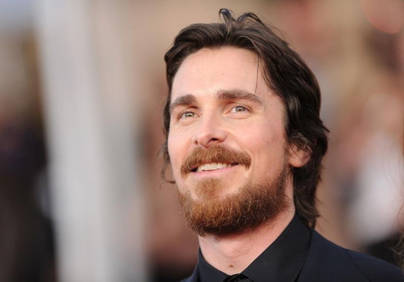 L'attore Christian Bale