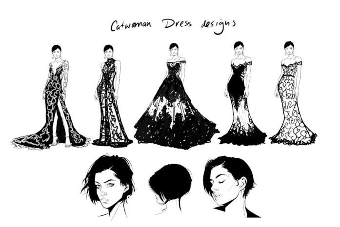 Le prove per il vestito nunziale di CatWoman
