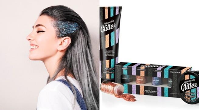 Alfaparf Milano con Shimmering Glitter offre luce e brillantezza sui capelli