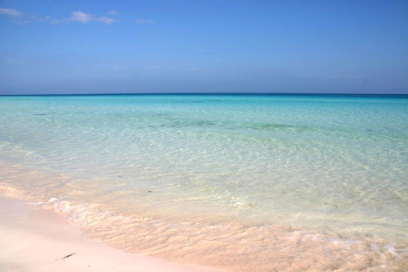 La bellissima spiaggia di Cayo Coco a Cuba