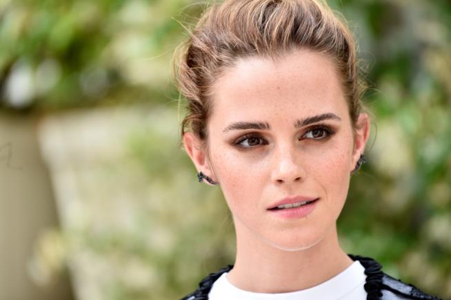 Emma Watson in primo piano